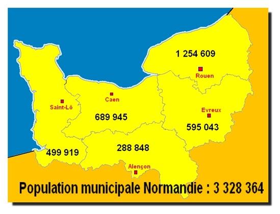 Normandie for Haute normandie basse normandie
